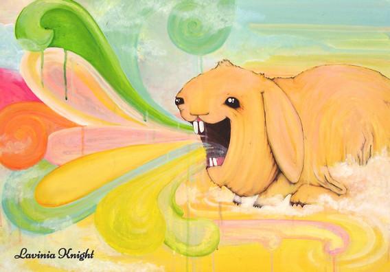 rainbow rabbit