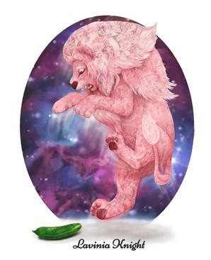 lion meets cucumber