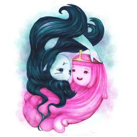 bubblegum and marceline