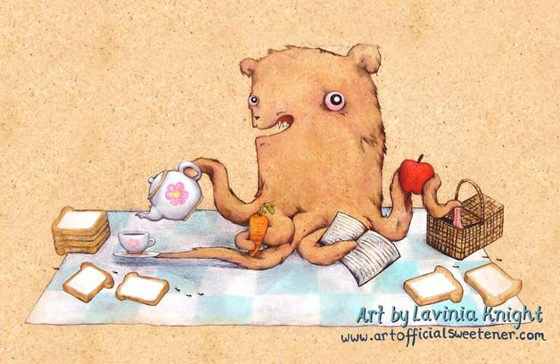 octopuss bear picnic