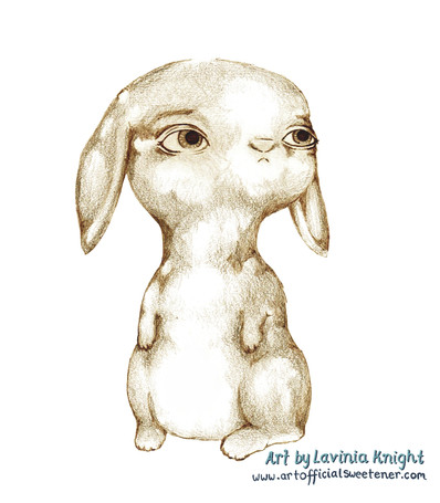 sketchy rabbit