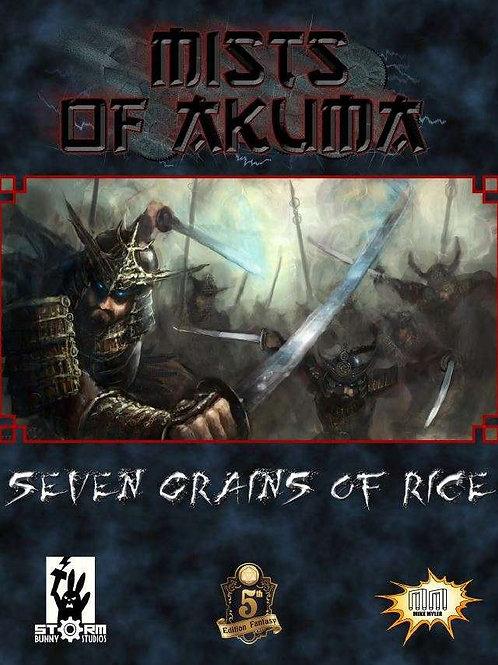 Mists of Akuma: Seven Grains of Rice