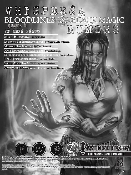 Whispers & Rumors: Issue 4