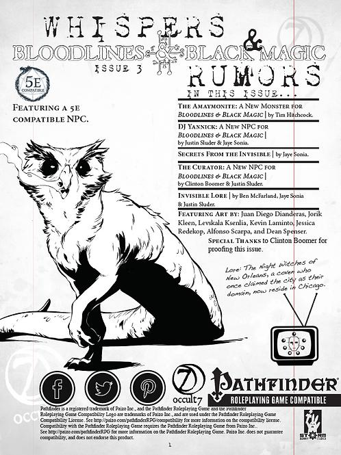 Whispers & Rumors: Issue 3