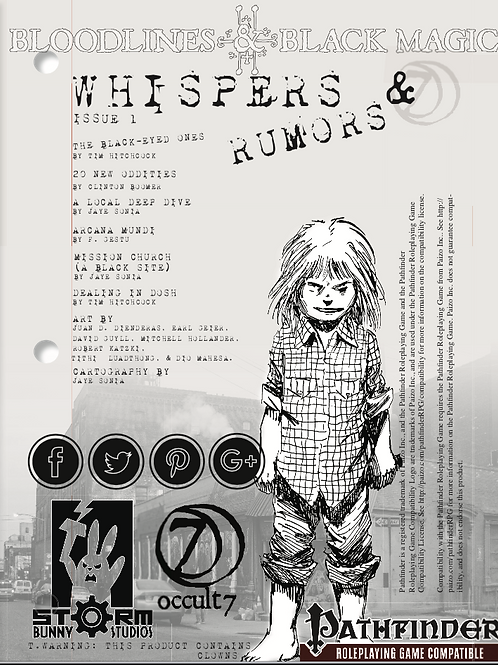 Whispers & Rumors: Issue 1