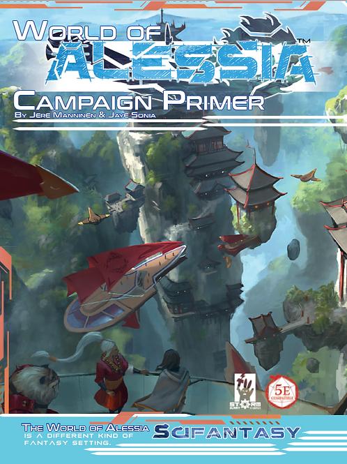 The World of Alessia Campaign Primer: Kickstarter Edition