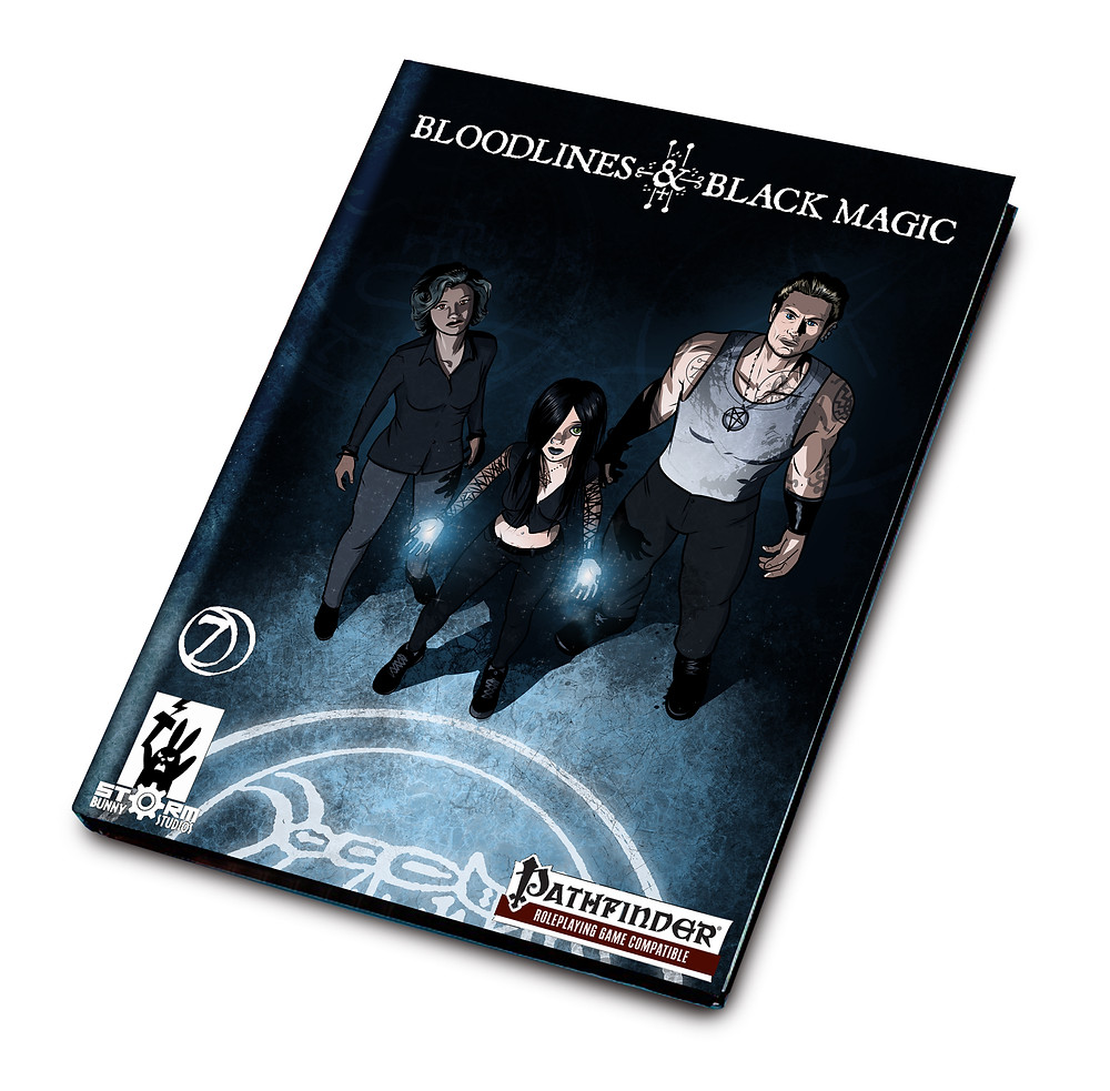 The cover of Bloodlines & Black Magic