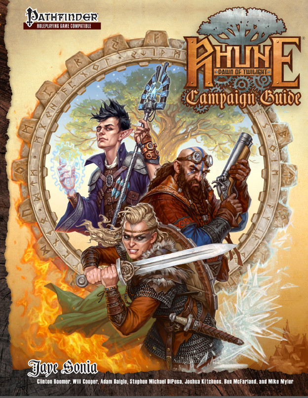 The cover of the Campaign Guide!