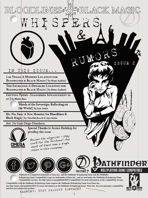 Whispers & Rumors: Issue 2