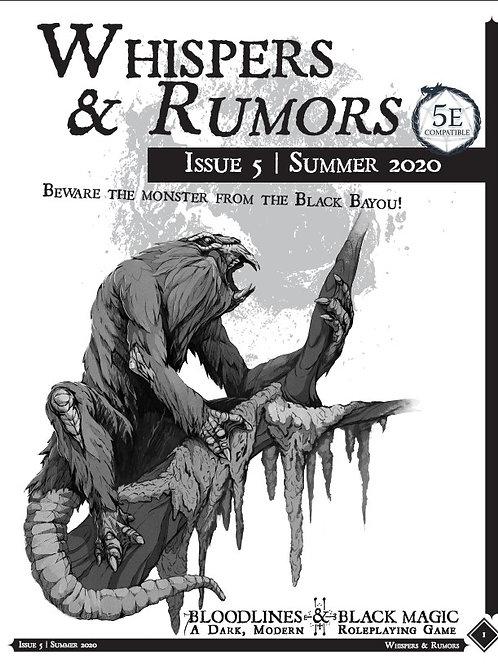 Whispers & Rumors: Issue 5
