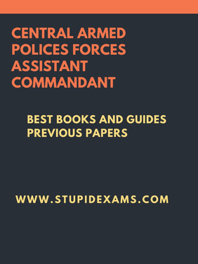 Best Books For CAPF AC Exam