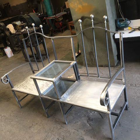 Custom Made Kissing Chair