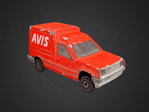 Avis Toy Car - 3D Model