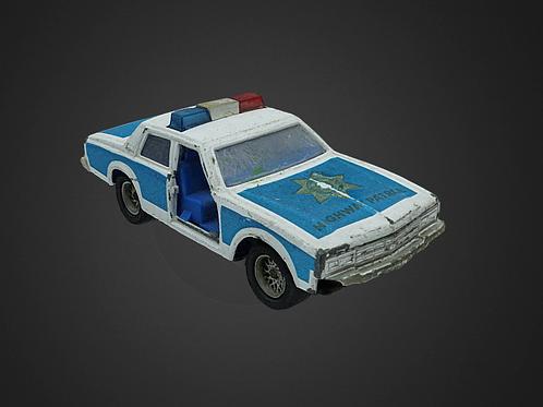 Police toy car - 3D Model