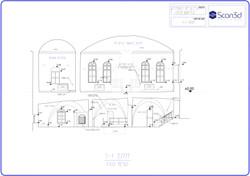 בית הכנסת ראש פינה שרטוט