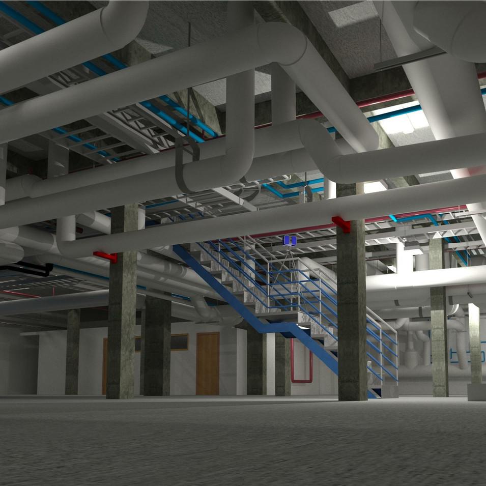 חדר מכונות - הנדסה תהליכית