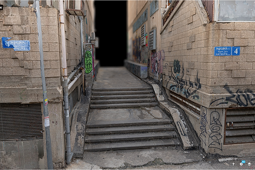 Graffiti urban scene