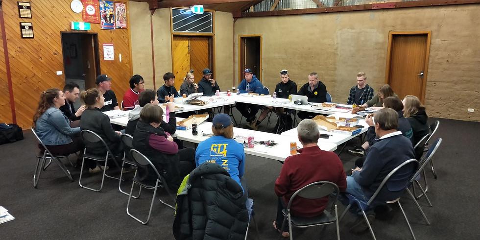 Bendigo East committee meeting