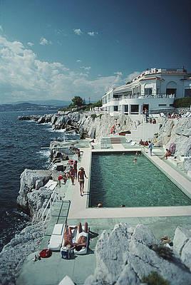 Hotel du cap eden roc Slim Aarons