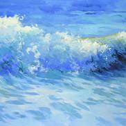 HOROLD ROSE WAVES  48X24