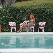Lounging in Bermuda Slim Aarons