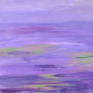 viola shades of lavender
