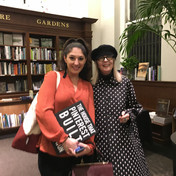 """With Diane Keaton and her book, """"The House That Pinterest Built"""""""