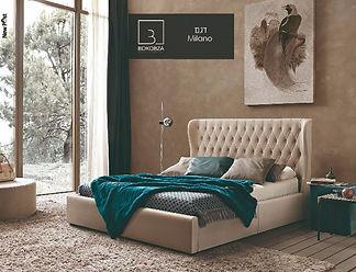 מיטה מרופדת דגם Milano - לקבלת הצעה