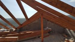 בניית גג רעפים לבית פרטי