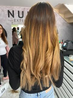 תוספות שיער עם אומברה