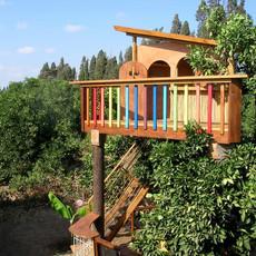 בית עץ בגובה