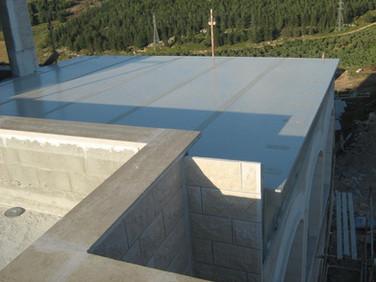 גג מבודד מאלומיניום