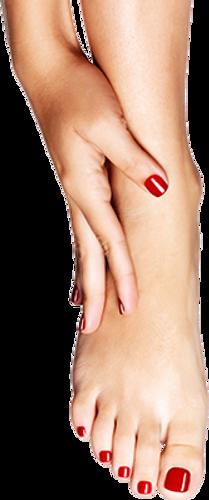 טיפוח הידיים והרגליים