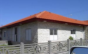 בניית גגות רעפים לבית פרטי