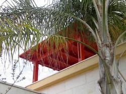 פרגולת עץ למרפסת