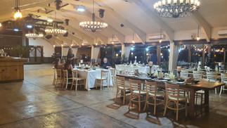 חתונה בקורונה - שולחנות אורחים מרווחים