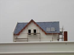 גג רעפים לבית פרטי