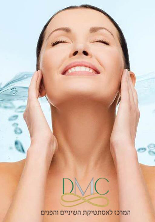 טיפול חדשני להחדרת לחות לעור הפנים