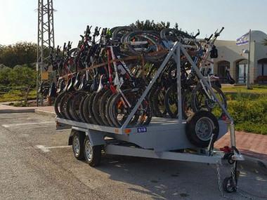 נגרר מיוחד להובלת אופניים
