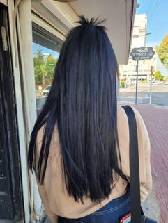 תוספת שיער שחורה