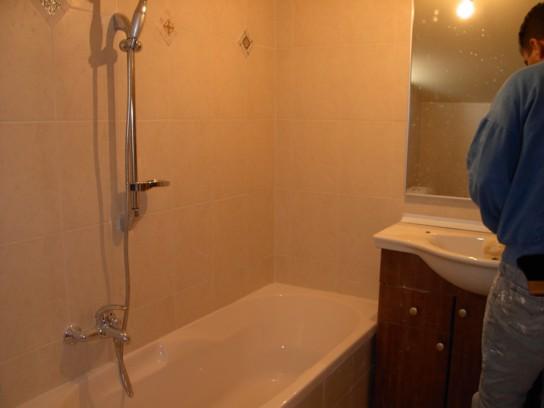 חדר אמבטיה בבנייה קלה