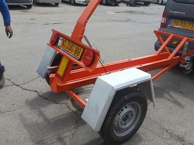 ייצור נגררים מיוחדים להובלת אופנועים