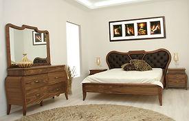 חדר שינה אוליביה אגוז