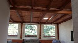 בנייה קלה מעץ - סגירת מרפסת