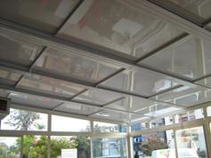 גג פתיחה חשמלי - מבט מהמרפסת