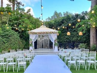 בקתה ביער - חתונה בגן אירועים