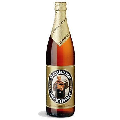 """בירה פרנסיסקאנר 20 בקבוקים 500 מ""""ל Franziskaner"""