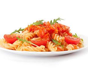 פסטה ברוטב עגבניות פרווה