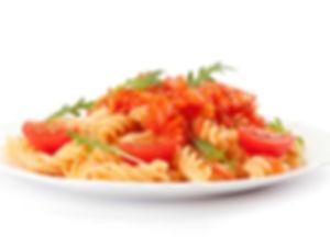 פסטה ברוטב עגבניות - מנות מהמטבח החם של קייטרינג איט איט