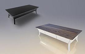 שולחן סלון שי לי אגוז